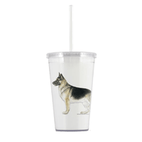 German Shepherd Beverage Tumbler