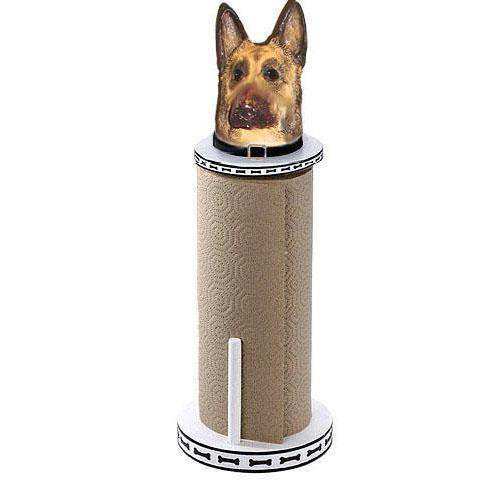 German Shepherd Dog Paper Towel Holder