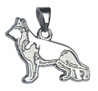 German Shepherd Dog Charm Jewelry