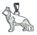 German Shepherd Dog Pendant