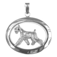Giant Schnauzer Oval Jewelry