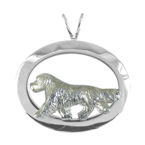 Golden Retriever Oval Jewelry