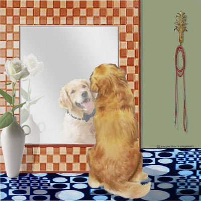 Golden Retriever Memory Box