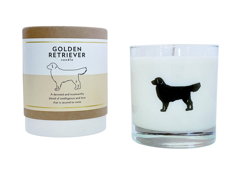 Golden Retriever Candle