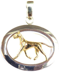Great Dane Sterling & 14k Gold Jewelry