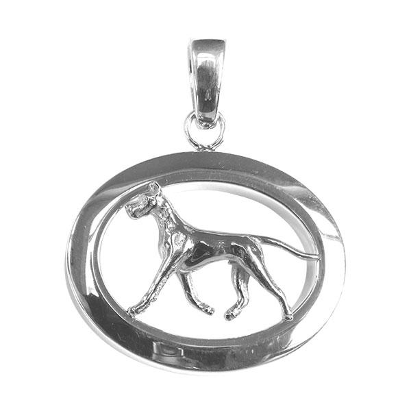 Great Dane Oval Jewelry