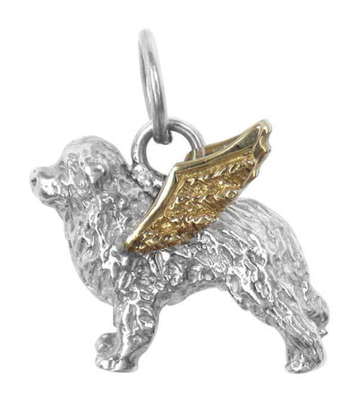 Great Pyrenees Angel Charm