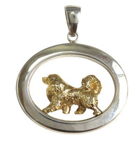 Great Pyrenees Sterling & 14k Gold Jewelry