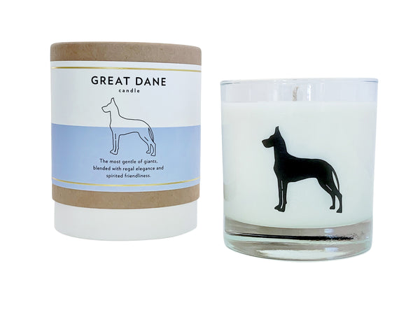 Great Dane Candle