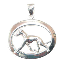 Greyhound Oval Jewelry
