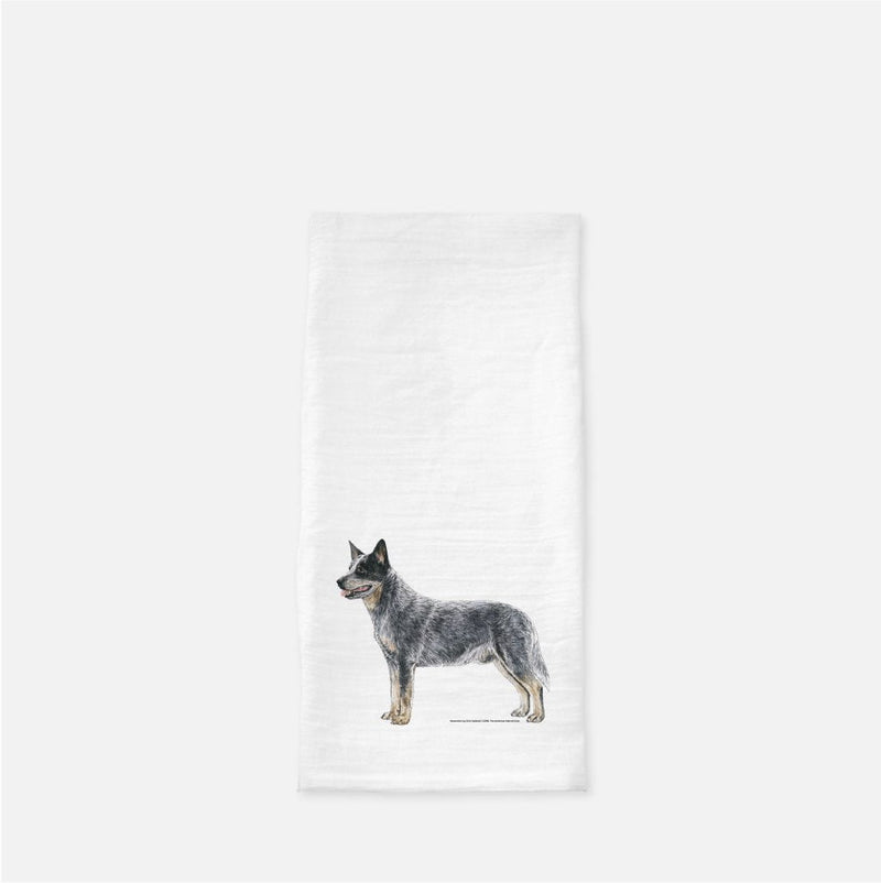 Australian Cattle Dog Tea Towel