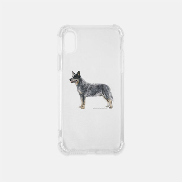 Australian Cattle Dog Clear Phone Case