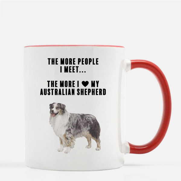 Australian Shepherd Love Coffee Mug