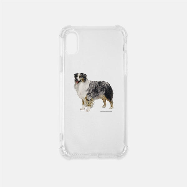 Australian Shepherd Clear Phone Case