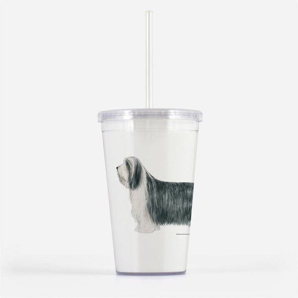 Bearded Collie Beverage Tumbler