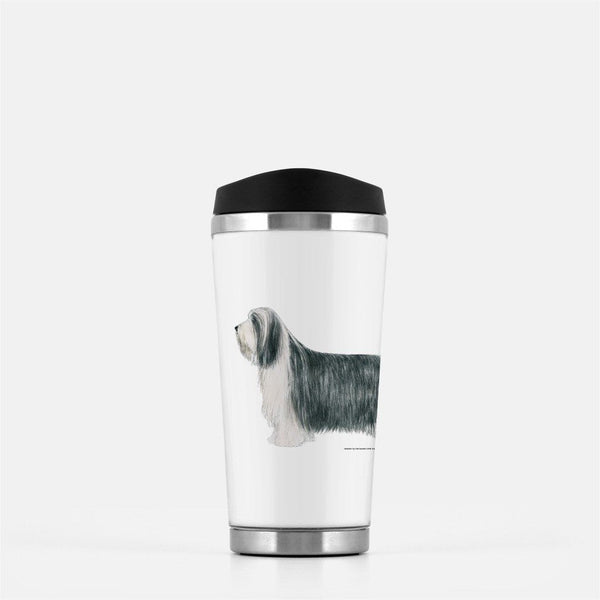 Bearded Collie Travel Mug