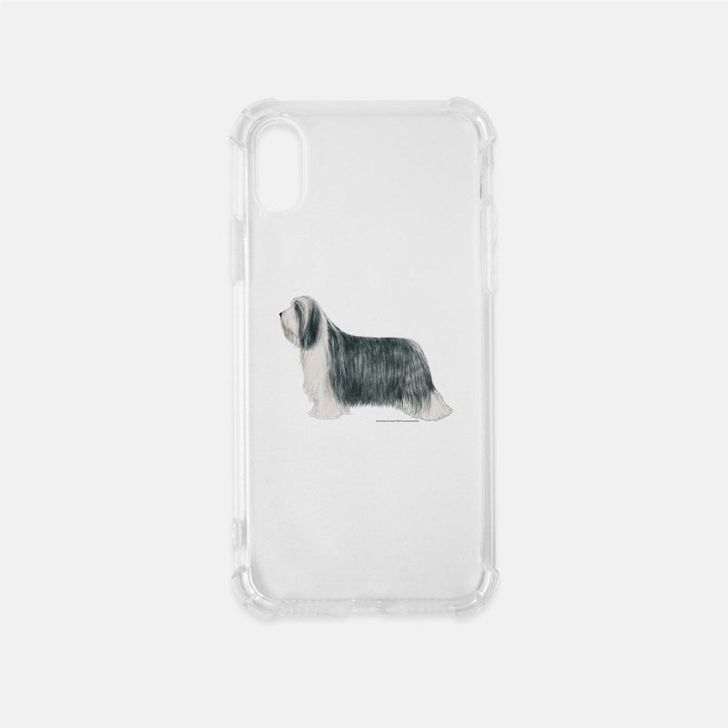 Bearded Collie Clear Phone Case