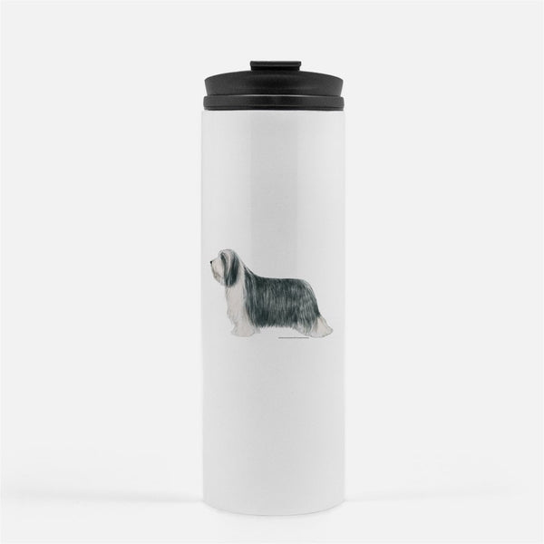 Bearded Collie Thermal Tumbler