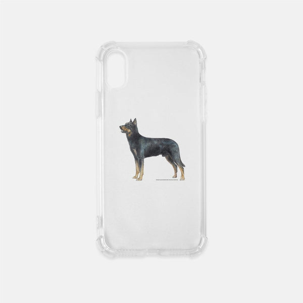 Beauceron Clear Phone Case