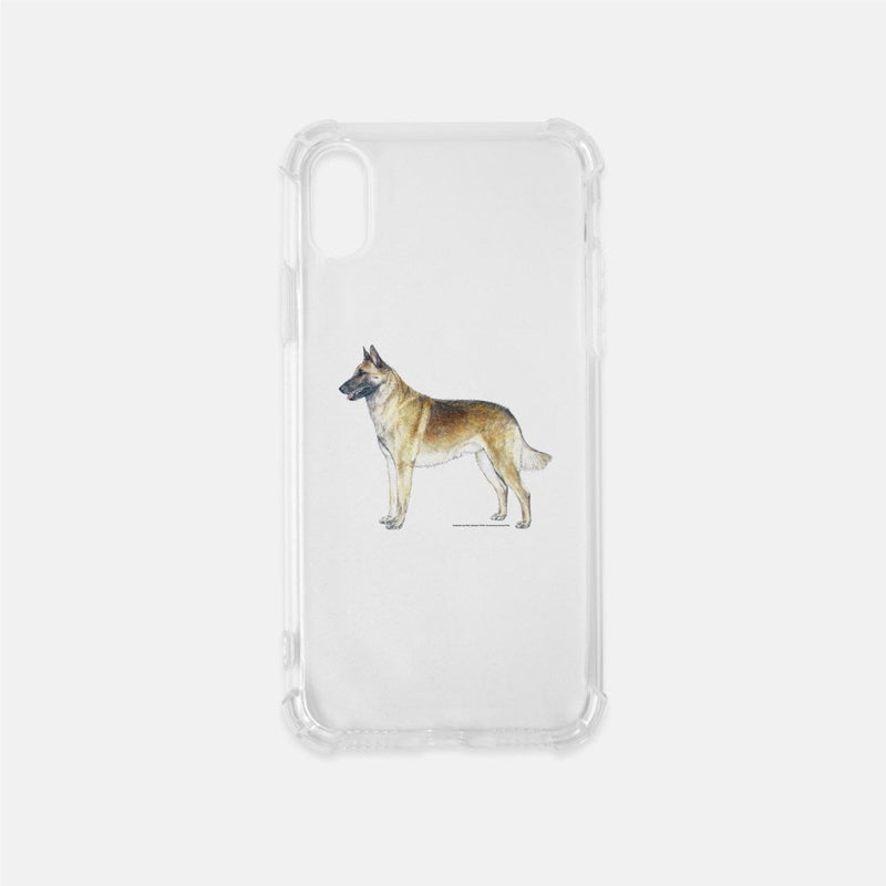 Belgian Malinois Clear Phone Case