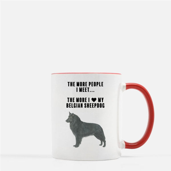 Belgian Sheepdog Love Coffee Mug