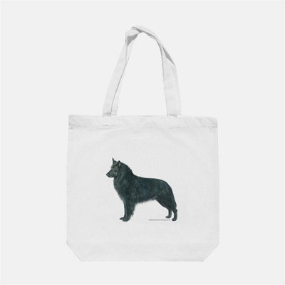 Belgian Sheepdog Tote Bag