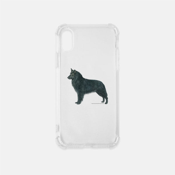 Belgian Sheepdog Clear Phone Case