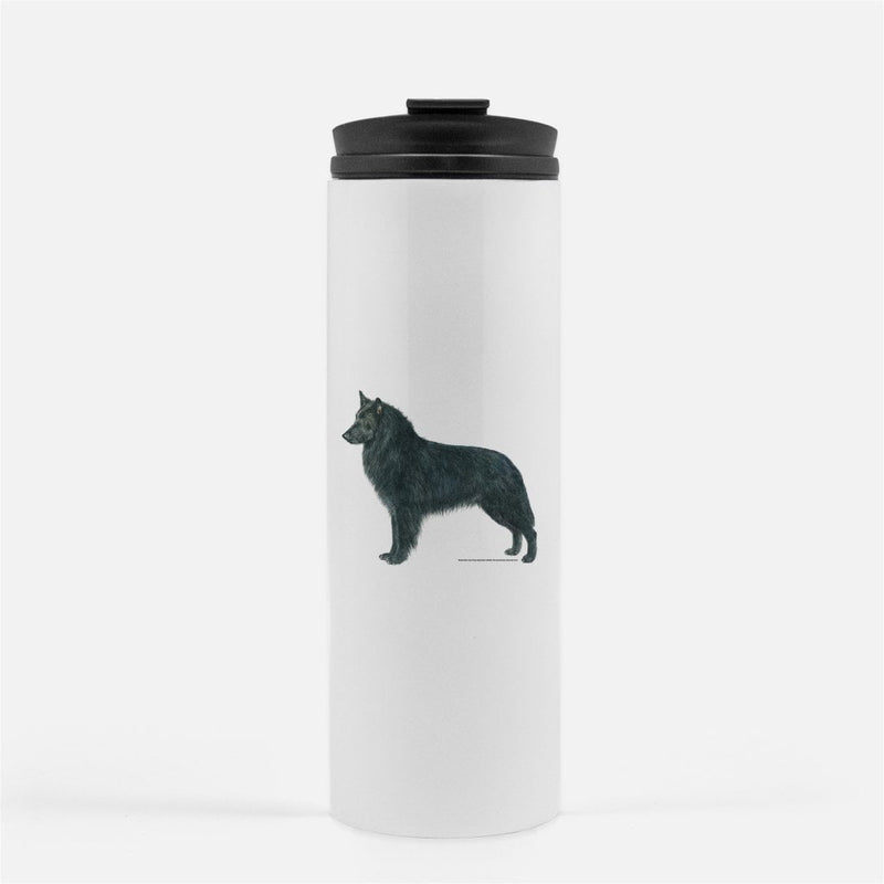 Belgian Sheepdog Thermal Tumbler