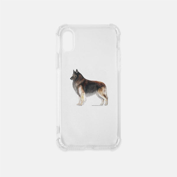Belgian Tervuren Clear Phone Case