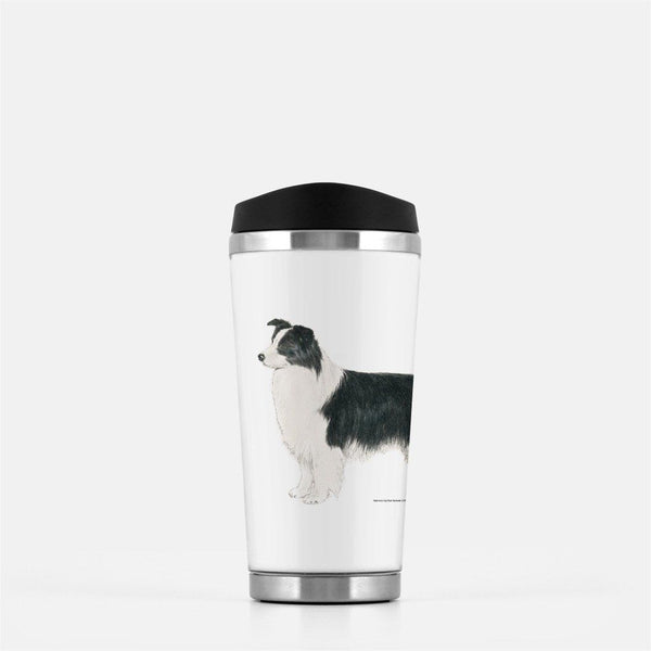 Border Collie Travel Mug