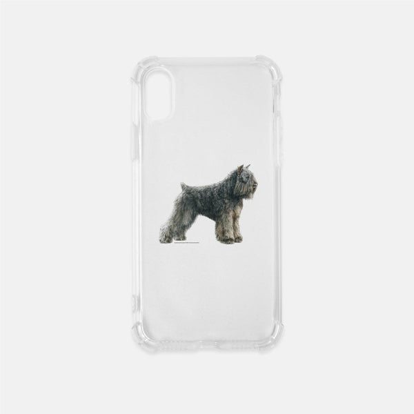 Bouvier des Flandres Clear Phone Case