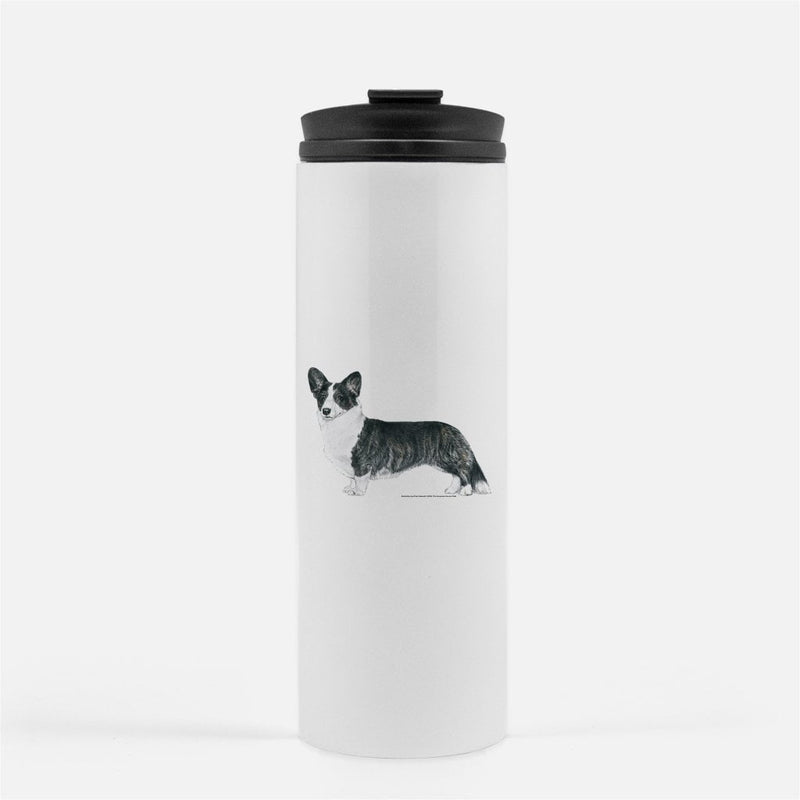 Cardigan Welsh Corgi Thermal Tumbler