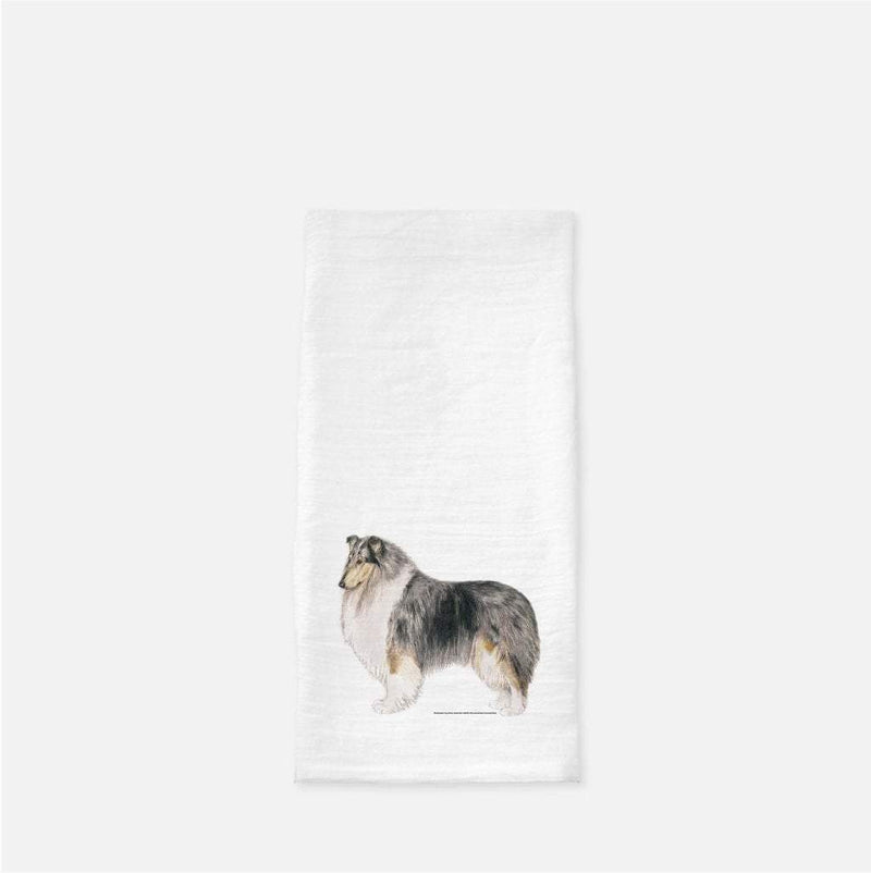 Collie, Rough, Tea Towel