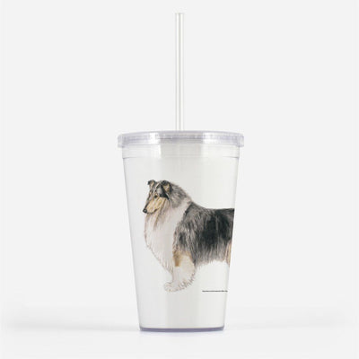 Collie, Rough, Beverage Tumbler