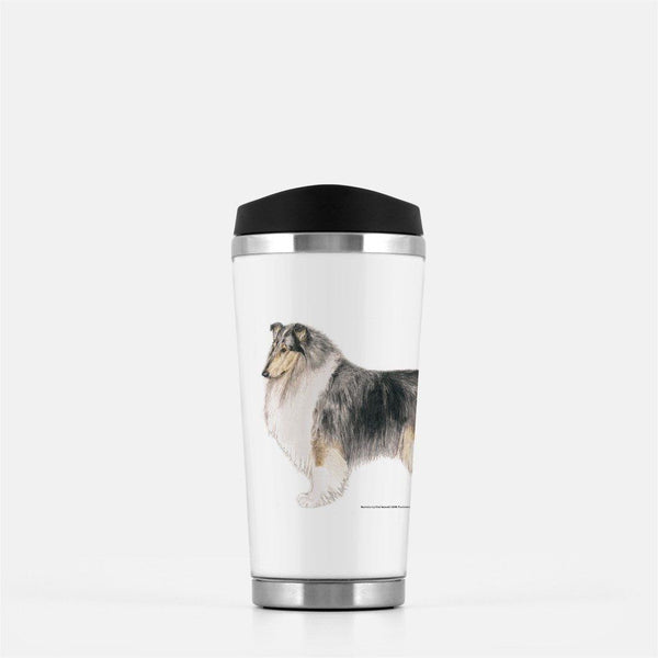 Rough Collie Travel Mug