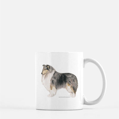 Collie, Rough, Coffee Mug