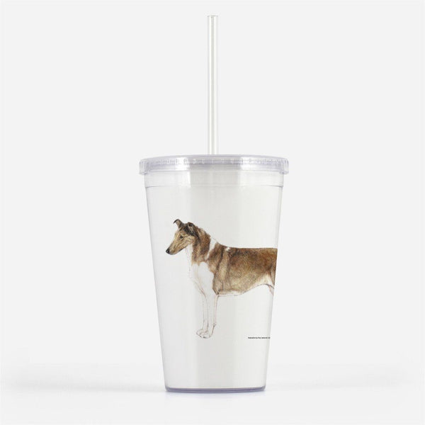 Smooth Collie Beverage Tumbler
