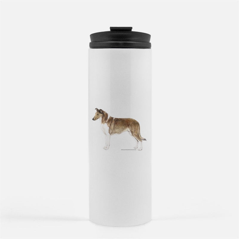 Smooth Collie Thermal Tumbler