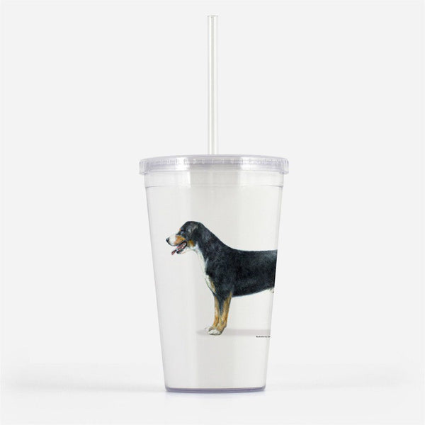 Entelbucher Mountain Dog Beverage Tumbler