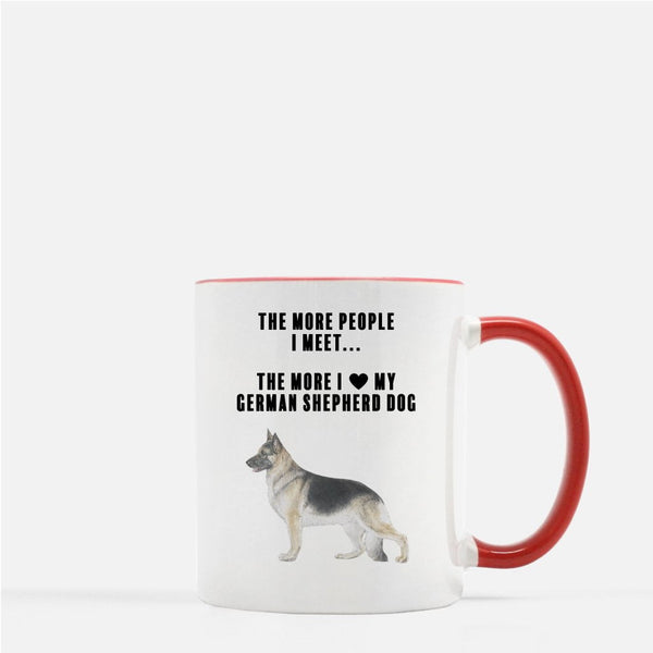 German Shepherd Dog Love Coffee Mug