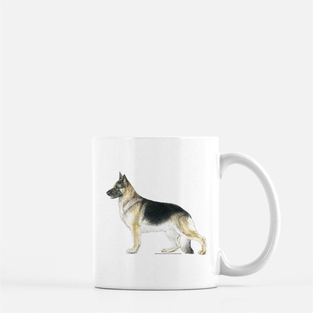 German Shepherd Dog Coffee Mug Akc Shop