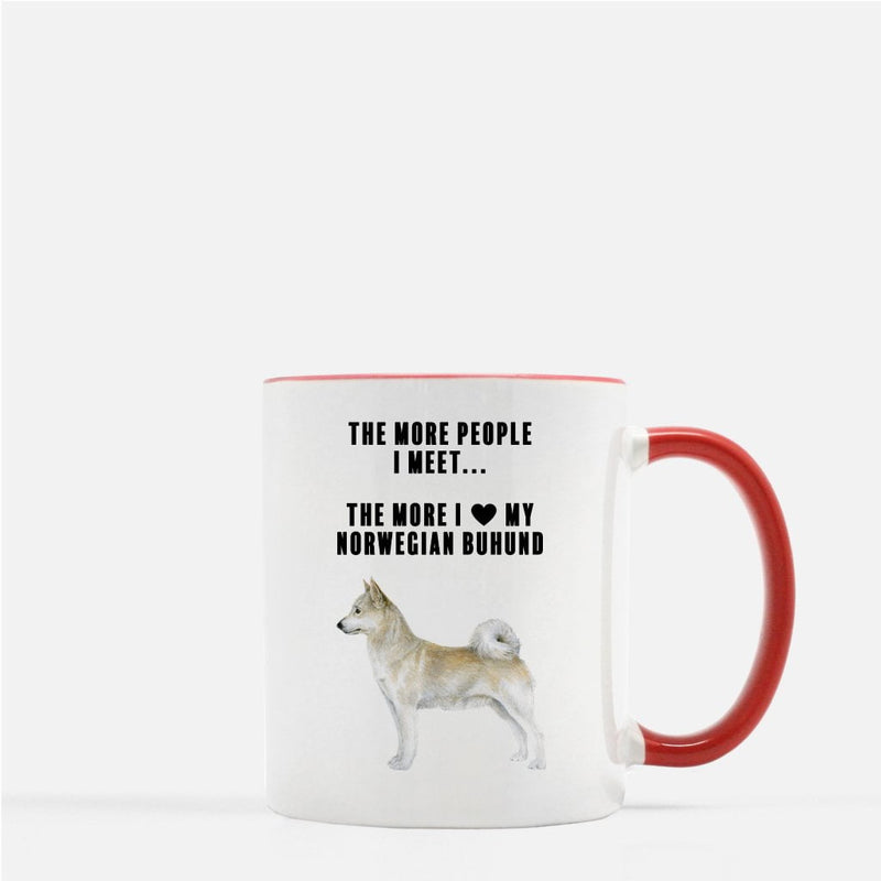 Norwegian Buhund Love Coffee Mug