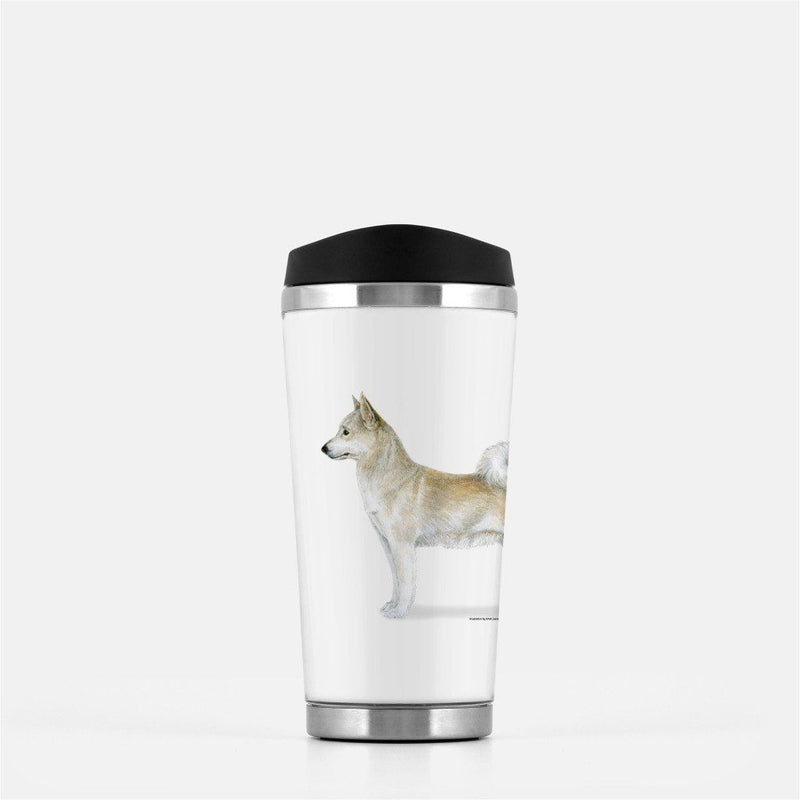Norwegian Buhund Travel Mug