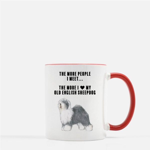 Old English Sheepdog Love Coffee Mug