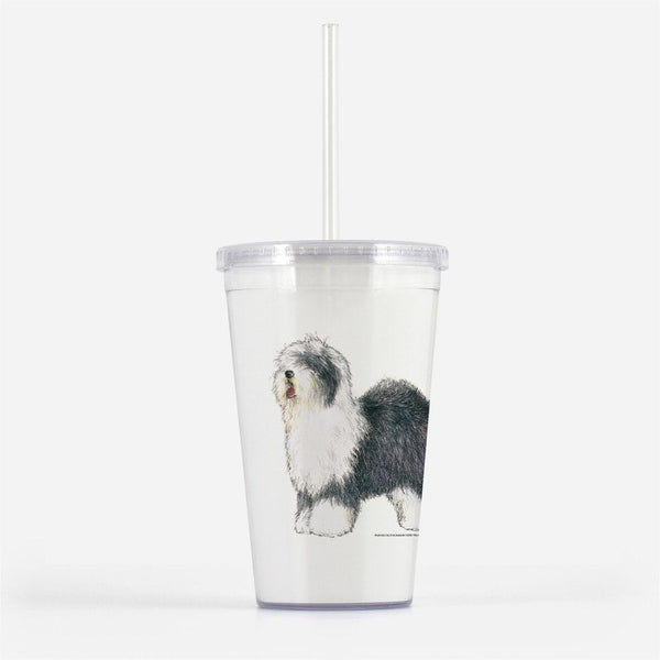 Old English Sheepdog Beverage Tumbler