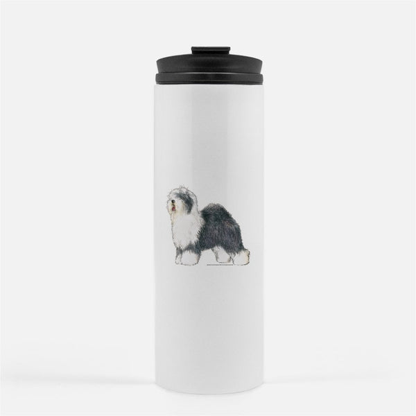 Old English Sheepdog Thermal Tumbler