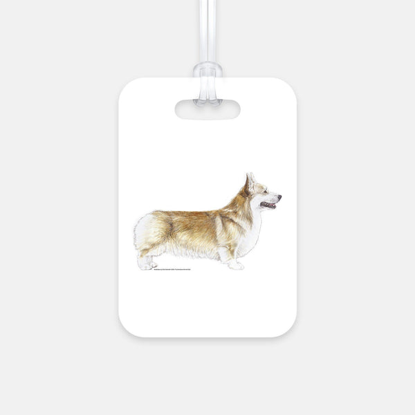 Pembroke Welsh Corgi Luggage Tag