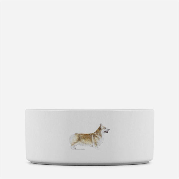 Pembroke Welsh Corgi Dog Bowl