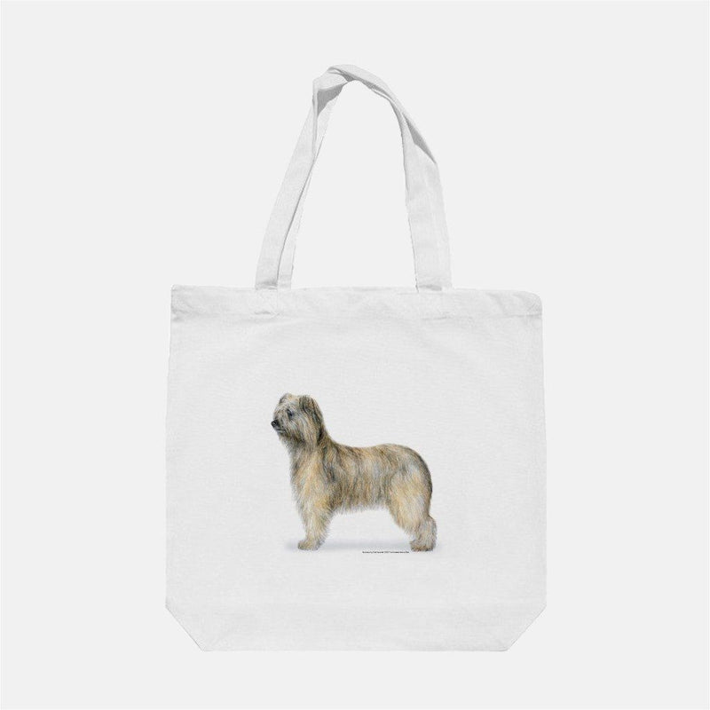 Rough Faced Pyrenean Shepherd Tote Bag