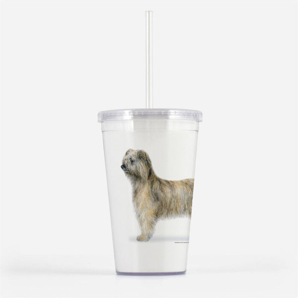 Pyrenean Shepherd Rough Face Beverage Tumbler